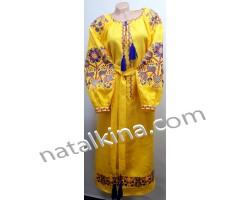 Сукня вишита пж0320-8N