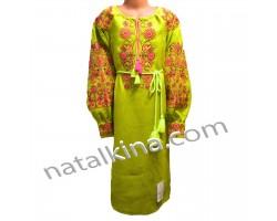 Сукня вишита пж0052