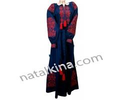 Сукня вишита пж0050-7к