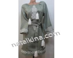 Сукня вишита пж0350-7